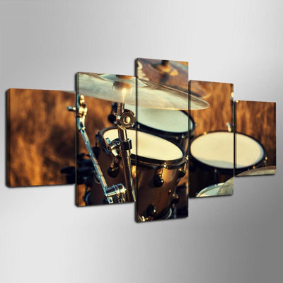 ROCK ON DRUMS - Ole Canvas