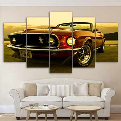 1969 Ford Mustang - Ole Canvas