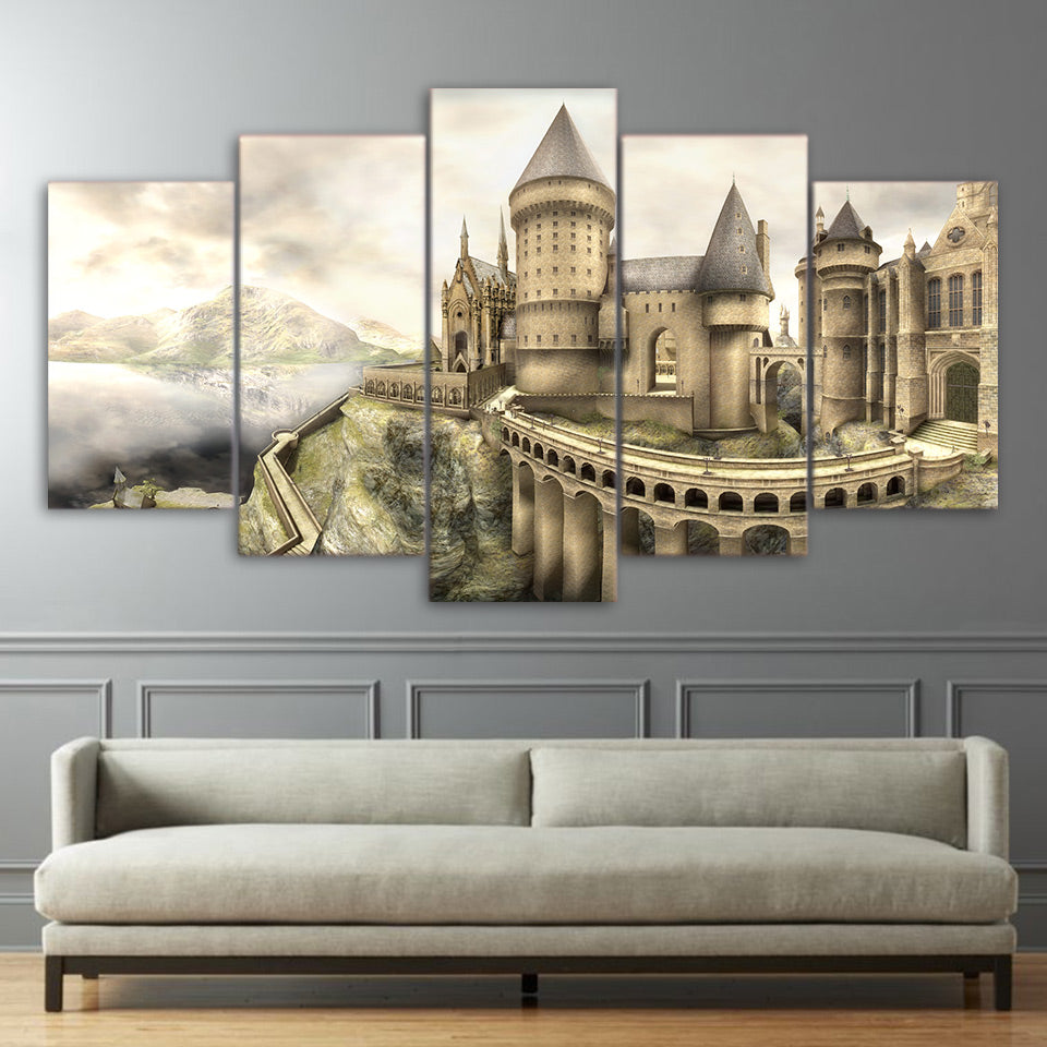 HARRY POTTER HOGWARTS CASTLE - Ole Canvas