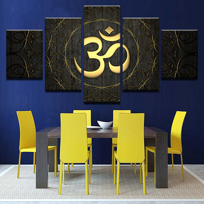 GOLD OM - Ole Canvas