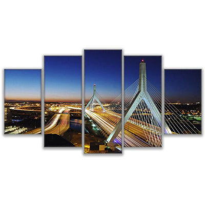 BOSTON BRIDGE, PRINTS, Ole Canvas