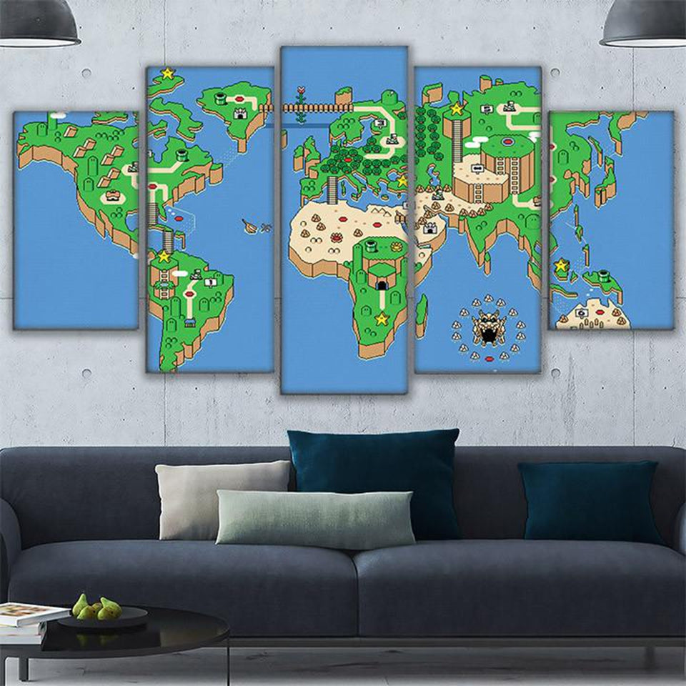 Super Mario World Map