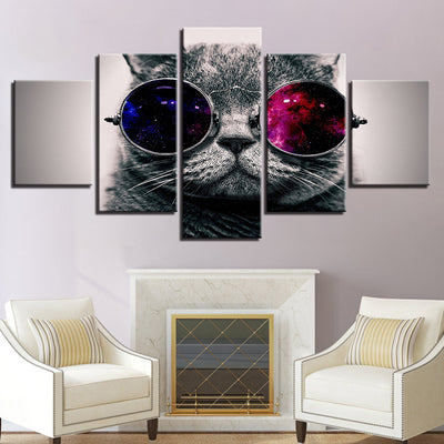 CHEEKY CAT - Ole Canvas