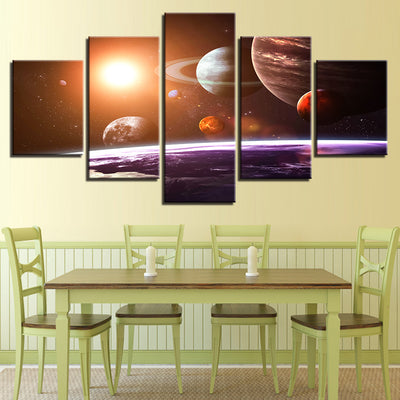 ORBITING PLANETS - Ole Canvas