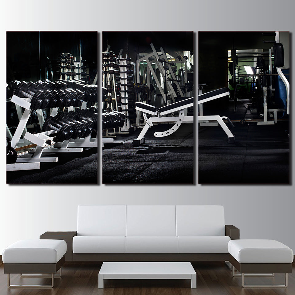 FITNESS EQUIPMENTS - Ole Canvas