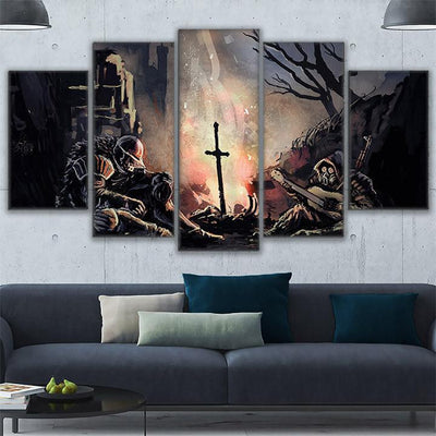 THE EXCALIBUR - Ole Canvas