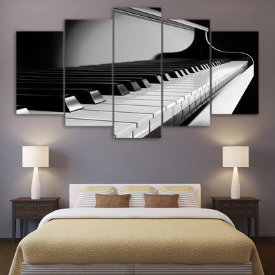 KEYS OF PIANO - Ole Canvas