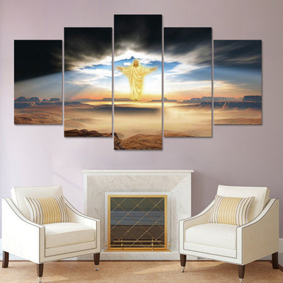 CHRIST IN THE SKY - Ole Canvas