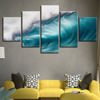 Rolling Waves - Ole Canvas