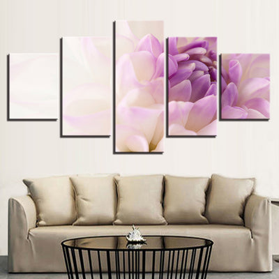 PURPLE FLOWER - Ole Canvas