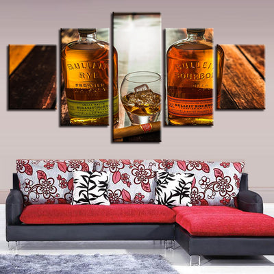 BOURBON WHISKEY - Ole Canvas