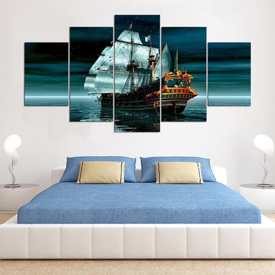 Sailing Ship - Ole Canvas