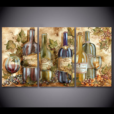 WINE COLLECTION - Ole Canvas