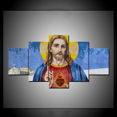 BLESSINGS OF JESUS CHRIST - Ole Canvas
