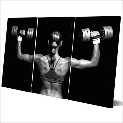 WEIGHT TRAINING - Ole Canvas