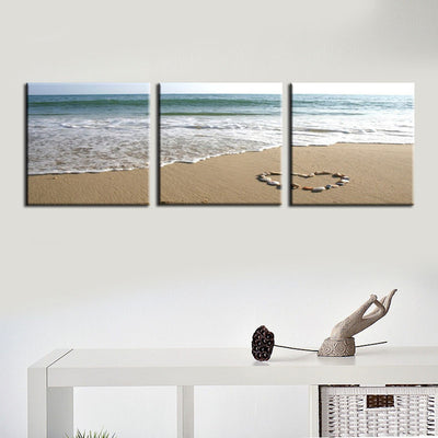 LOVE ON THE BEACH - Ole Canvas