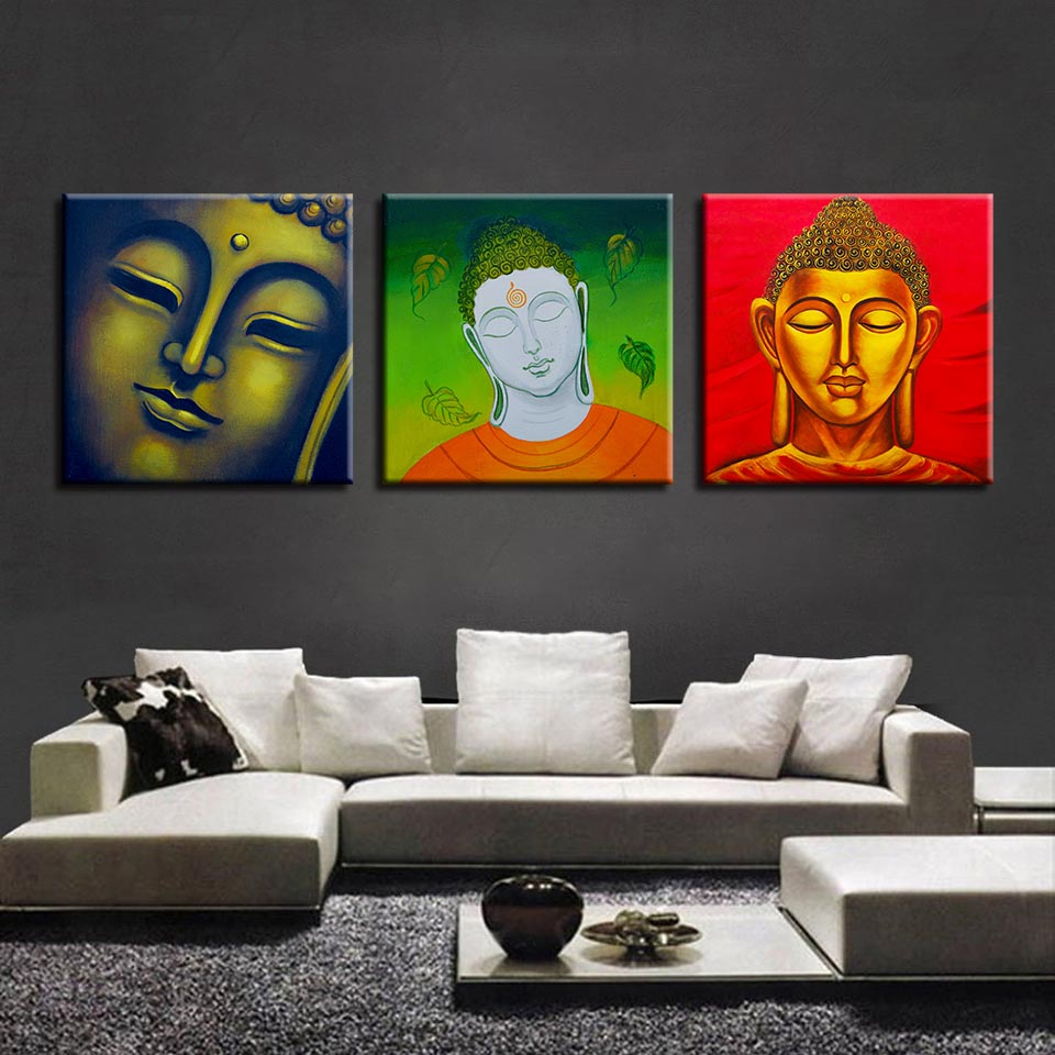 Buddha Zen Art, PRINTS, Ole Canvas