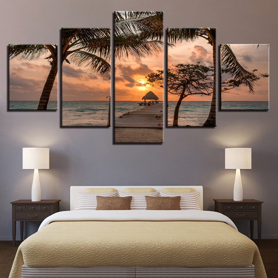 Palm Trees - Ole Canvas