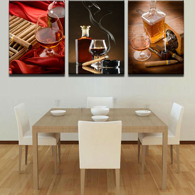 SCOTCH AND CIGAR - Ole Canvas