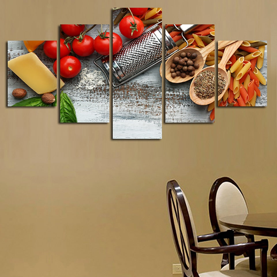 Cheese Pasta, PRINTS, Ole Canvas
