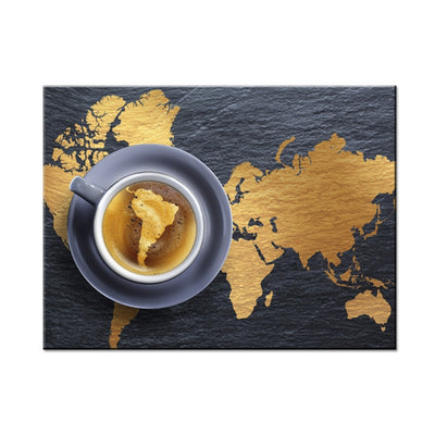 Coffee Map - Ole Canvas