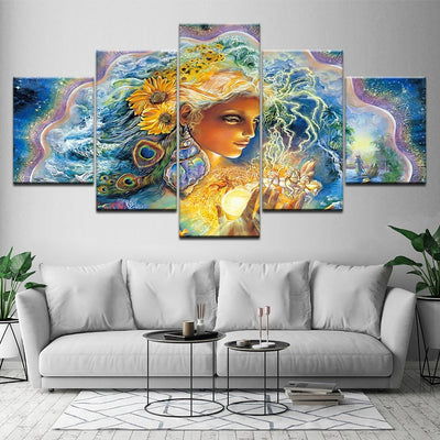 Psychedelic Fairy - Ole Canvas