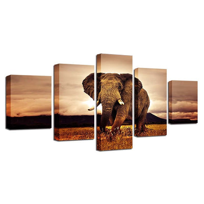 Majestic Elephant - Ole Canvas