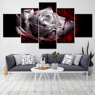 Bloody White Rose - Ole Canvas