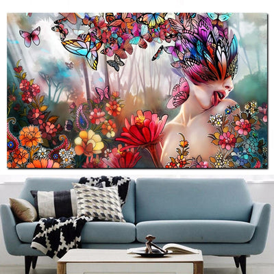 Butterfly Dreams - Ole Canvas