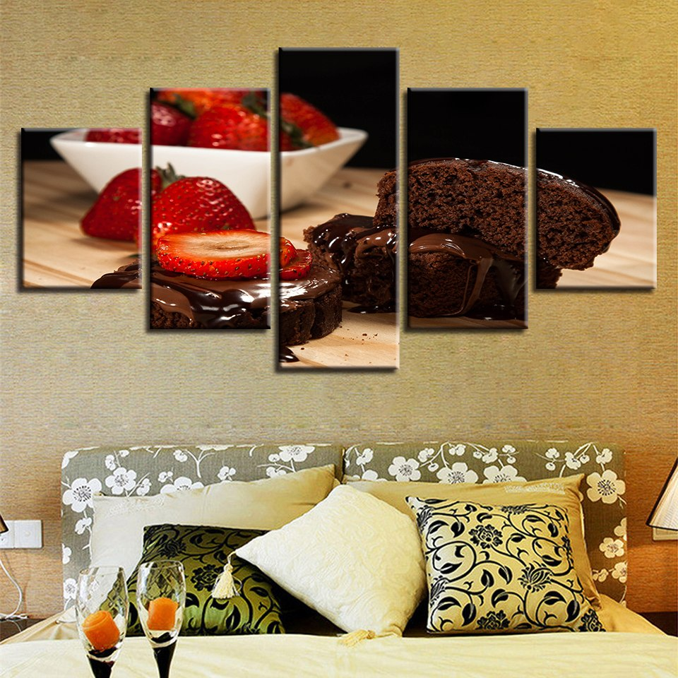 Strawberry Chocolate, PRINTS, Ole Canvas