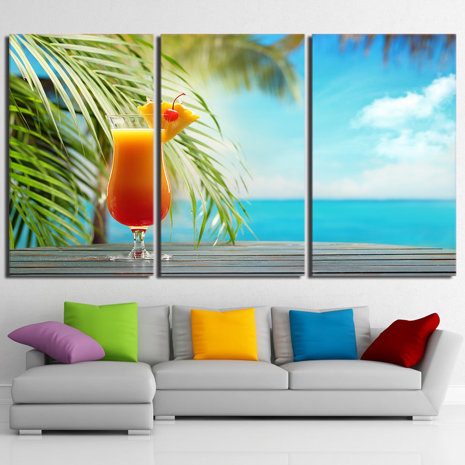 Tropical Drink, PRINTS, Ole Canvas