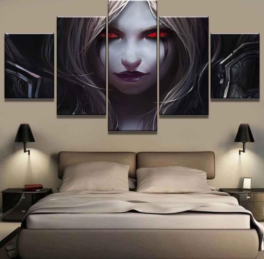 Warcraft Sylvanas - Ole Canvas