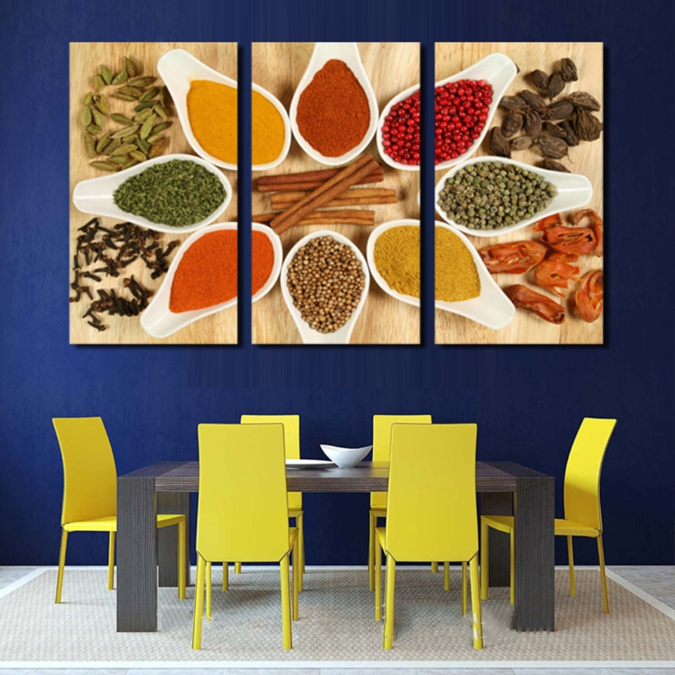 Lentils and Spices, PRINTS, Ole Canvas