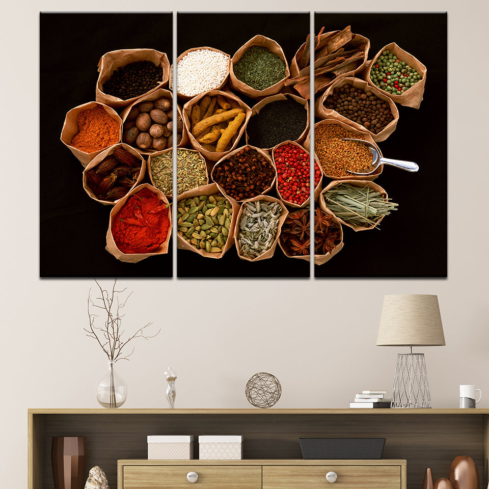 SPICES, PRINTS, Ole Canvas