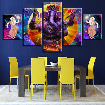 Fierce Ganesha - Ole Canvas