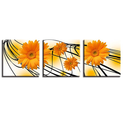 Orange Sunflower - Ole Canvas