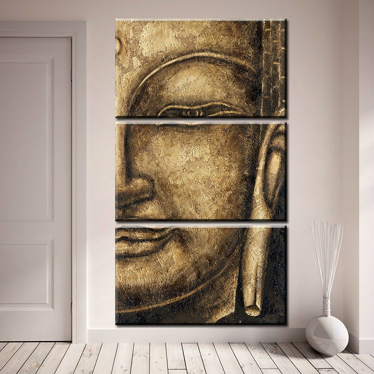 Antique Buddha, PRINTS, Ole Canvas