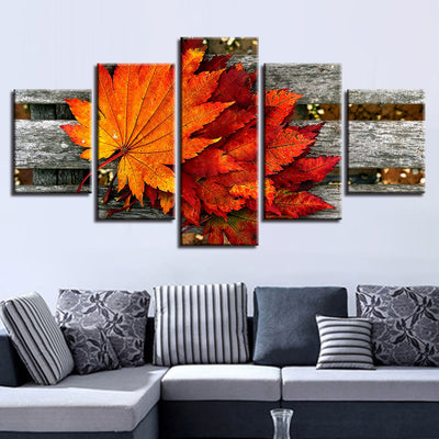 SPRING MAPLE LEAF - Ole Canvas