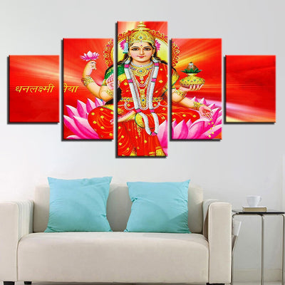 Goddess Lakshmi - Ole Canvas