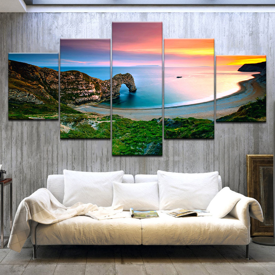 Durdle Door Landscape, PRINTS, Ole Canvas