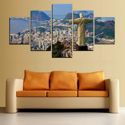 CHRIST THE REDEEMER - Ole Canvas