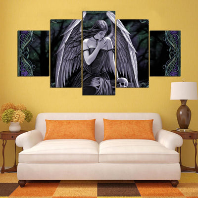 THE ANGEL - Ole Canvas