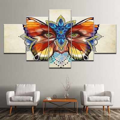 Butterfly Eyes - Ole Canvas
