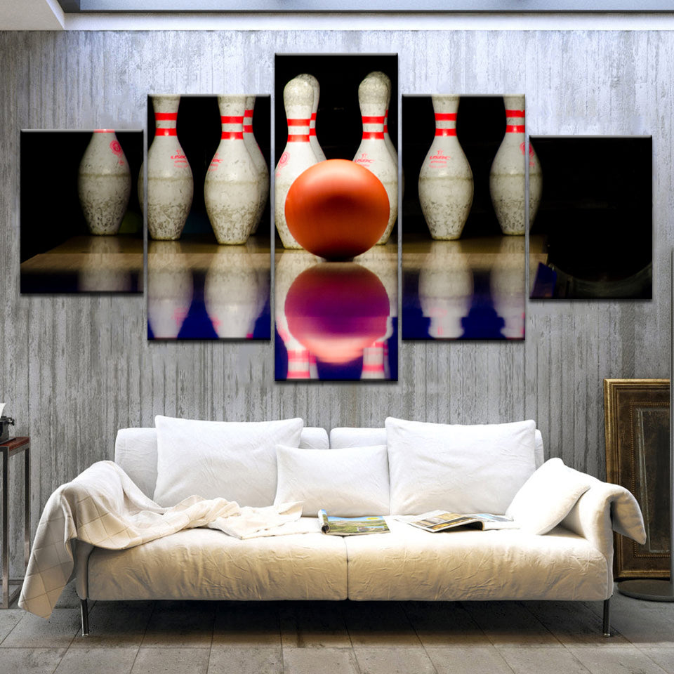 BOWLING BALL, PRINTS, Ole Canvas