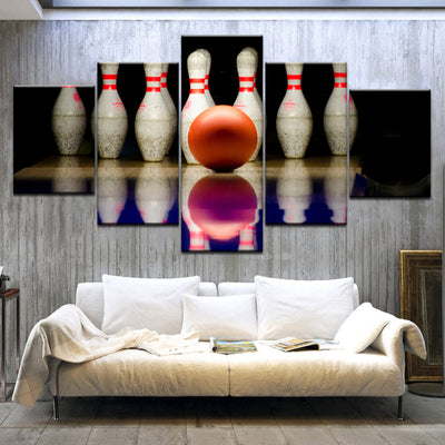 BOWLING BALL - Ole Canvas