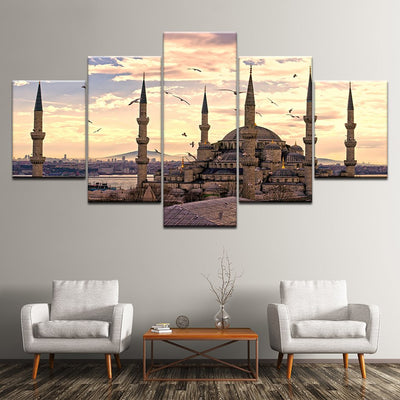 SULTAN AHMED MOSQUE - Ole Canvas