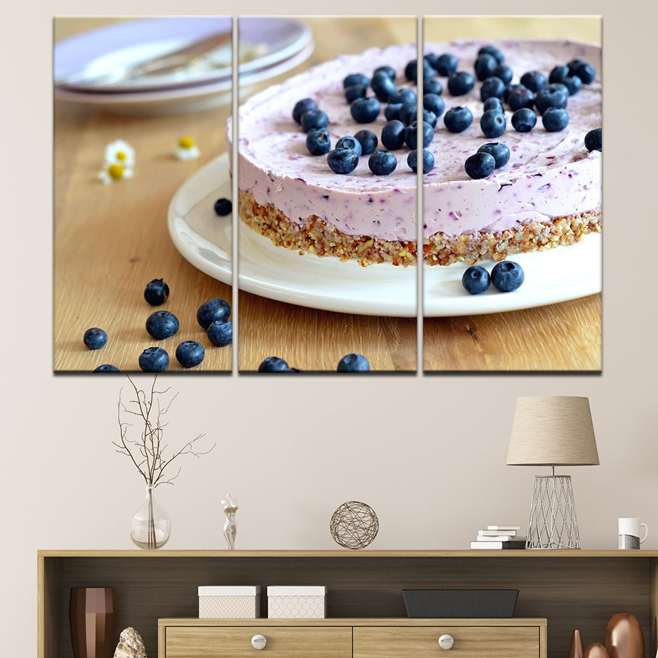 BLUEBERRY CAKE, PRINTS, Ole Canvas
