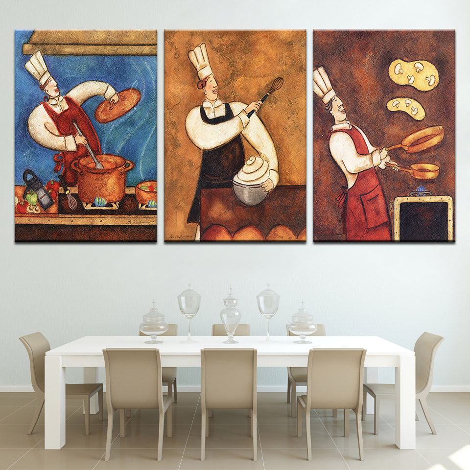 Art Of Cooking, PRINTS, Ole Canvas