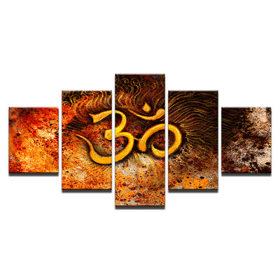 OM IN THE EARTH - Ole Canvas