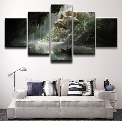 Skull Waterfall - Ole Canvas